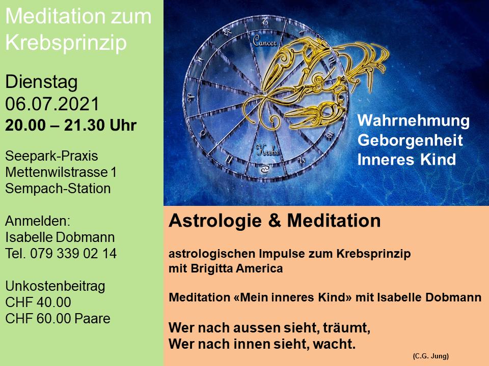 Meditation mit Isabelle Dobmann